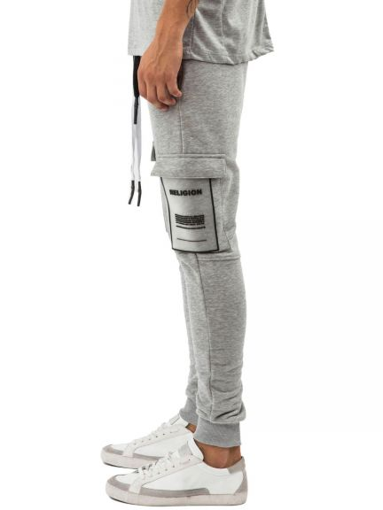 RELIGION Herren Jogginghose REP PANT grey