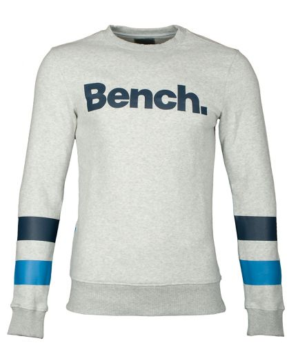 BENCH Herren Sweatshirt Crew Neck Corp
