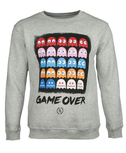BOOM BAP Herren Sweatshirt GAME OVER