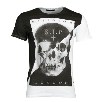 RELIGION Clothing Herren T-Shirt RIP