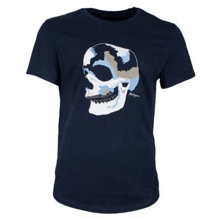 RELIGION Clothing Herren T-Shirt BIG SKULL EMBRO