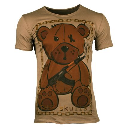 THE SKULLS Herren T-Shirt TEDDY
