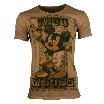 THE SKULLS Herren T-Shirt THUG MOUSE